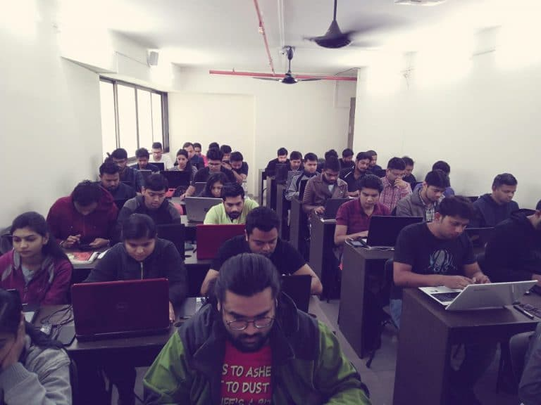 Front view of Vaibhav Sir Data Science Class