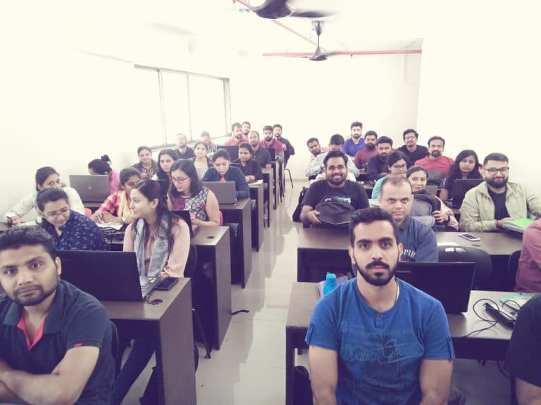Fron View of Students in the Seminar Room
